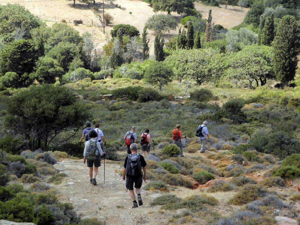 Andros Island Hiking Journey