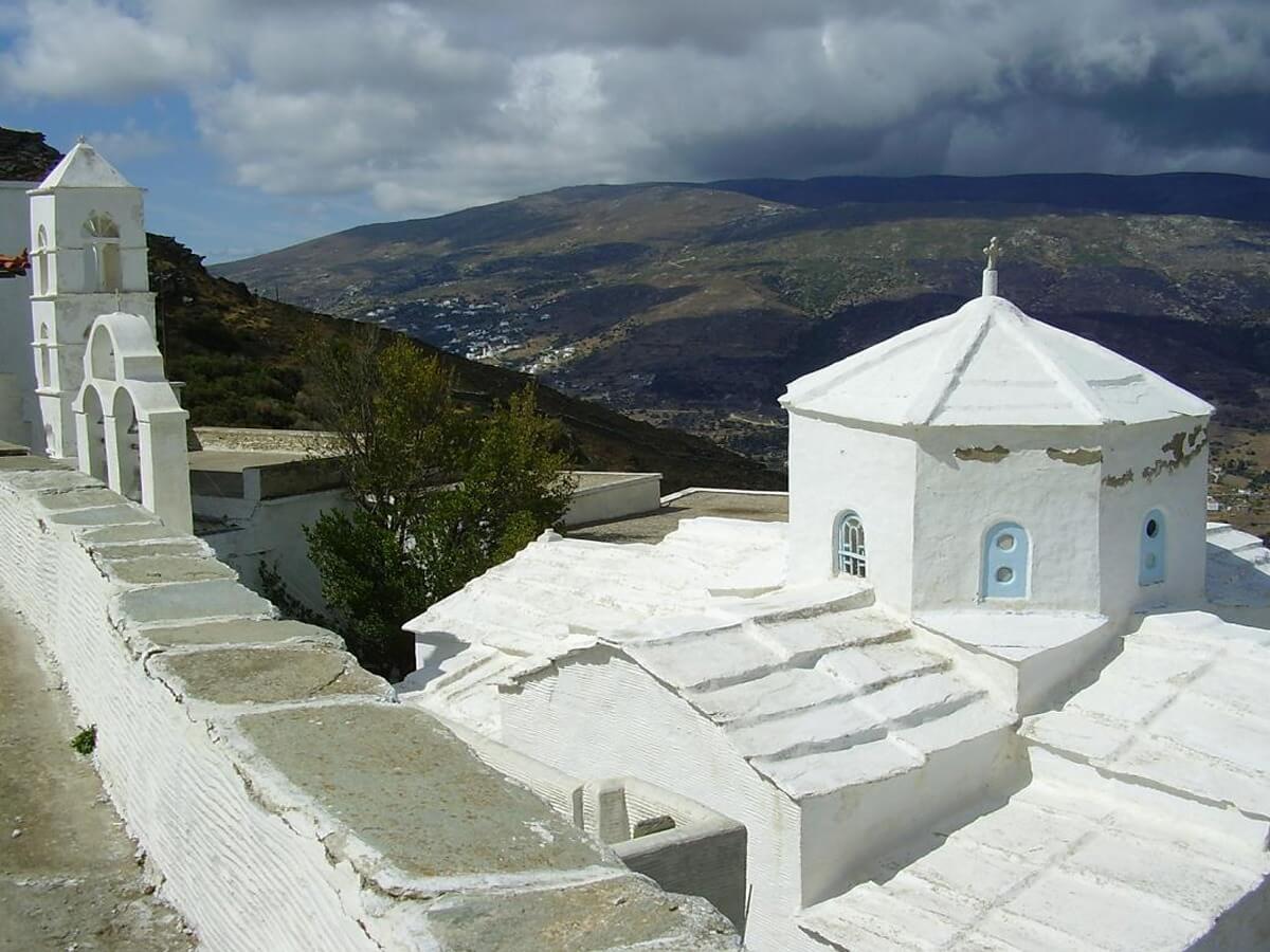 Andros Island Hiking Journey - Monastery