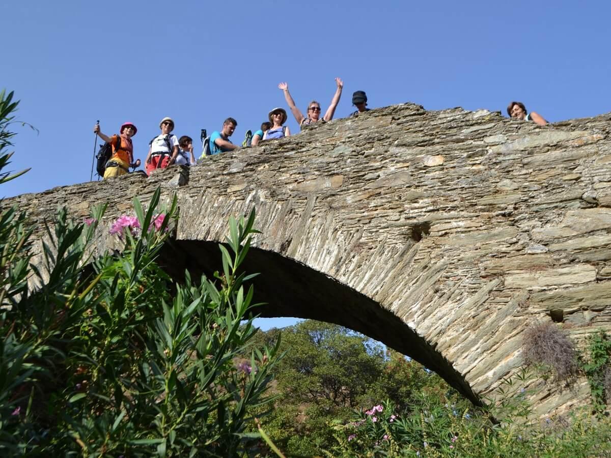 Andros Island Hiking Journey - Bridge