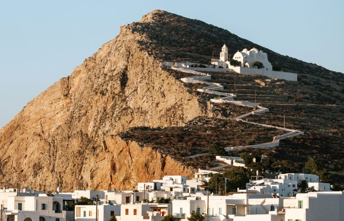 Athens Santorini & Folegandros tour