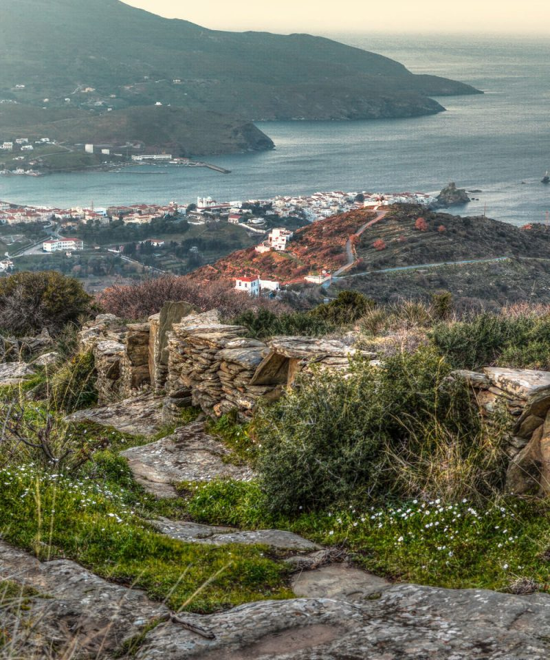 best_of_andros_island_trekking_experience