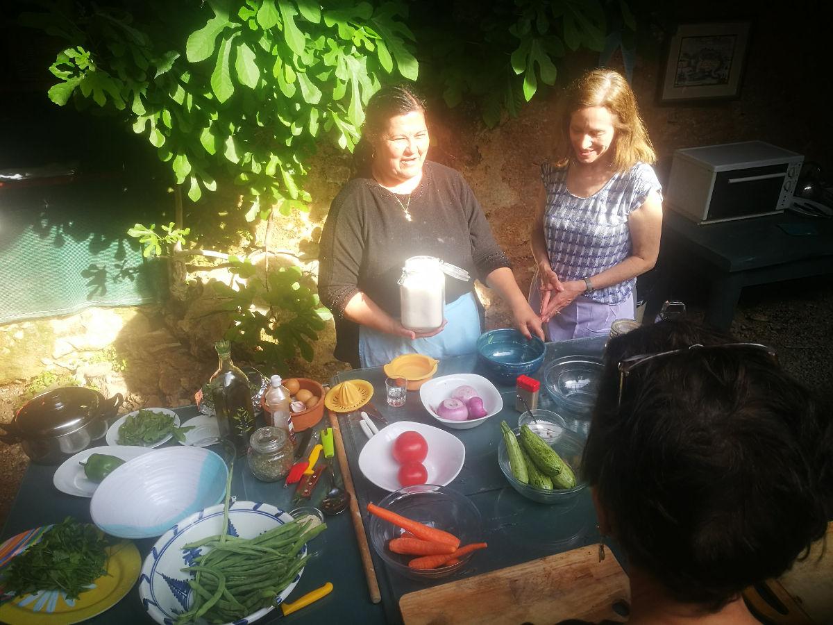 cretan cooking experience