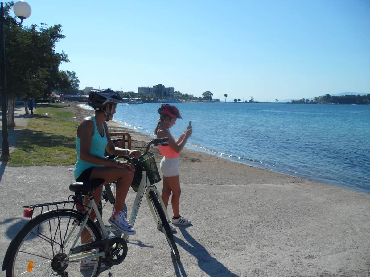 eretria family cycling tour