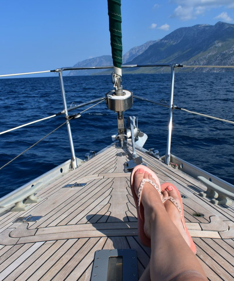 evia sailing adventure