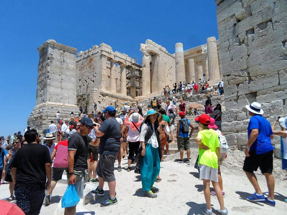 Greece Active Tour Acropolis Athens