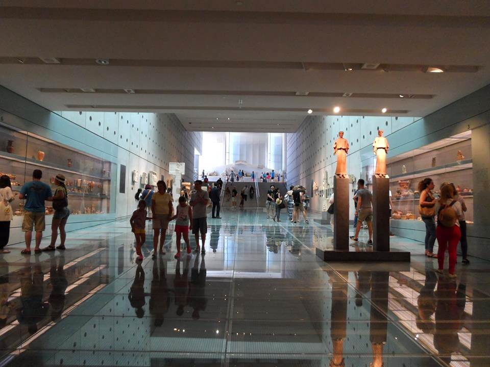 Greece Active Tour Acropolis Museum