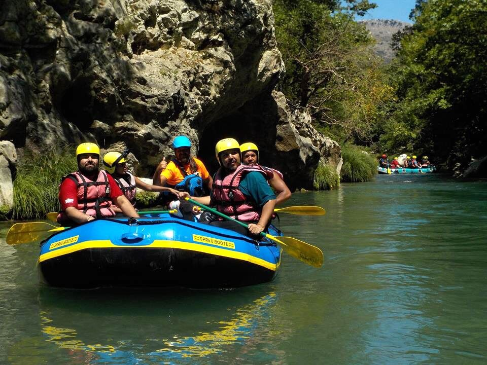 Greece Active Tour Rafting