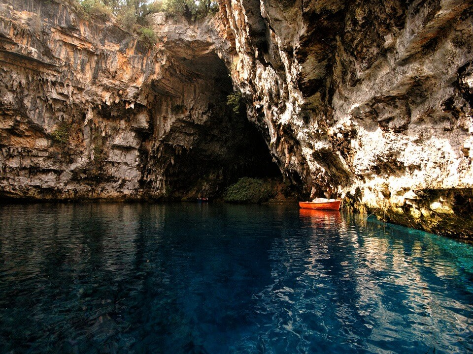 Greece Active Tour Melissani Cave Kefalonia