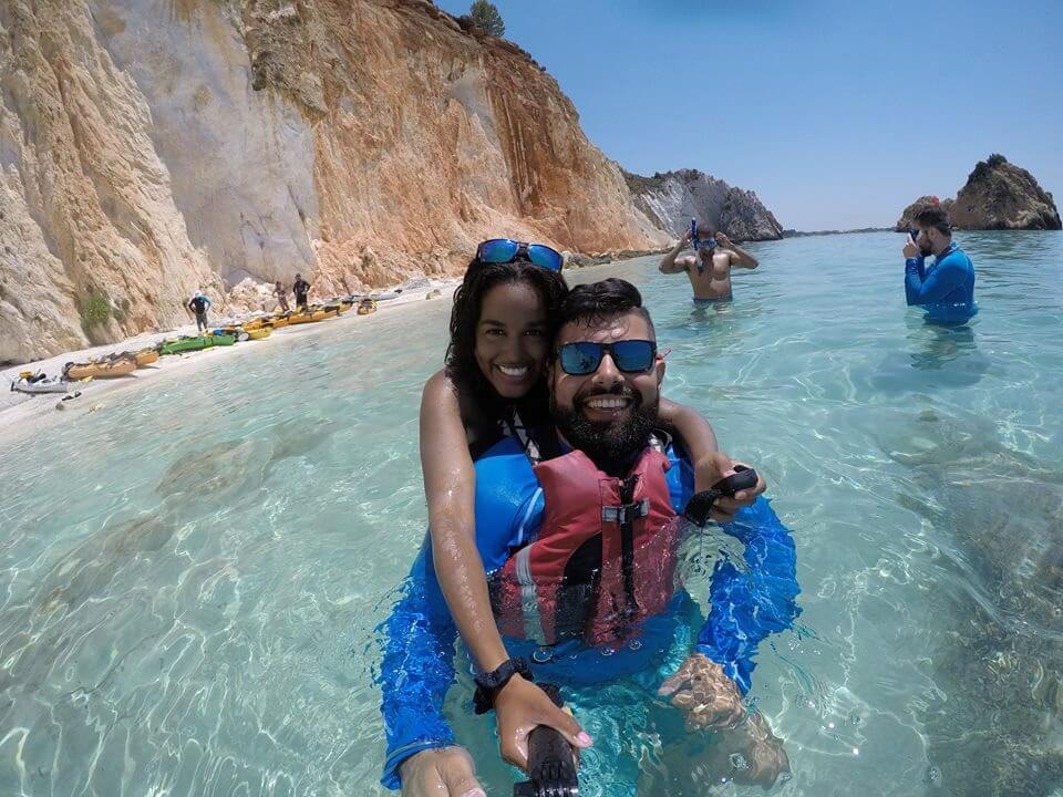 Greece Active Tour Sea Kayak Kefalonia