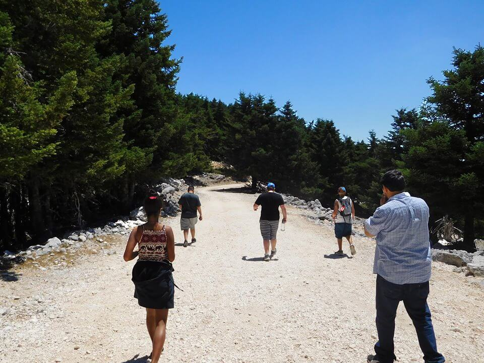 Greece Active Tour Mount Ainos
