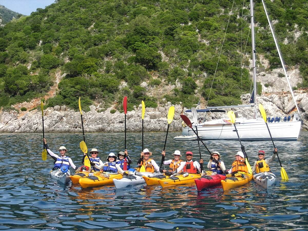 Kefalonia sea kayak tour