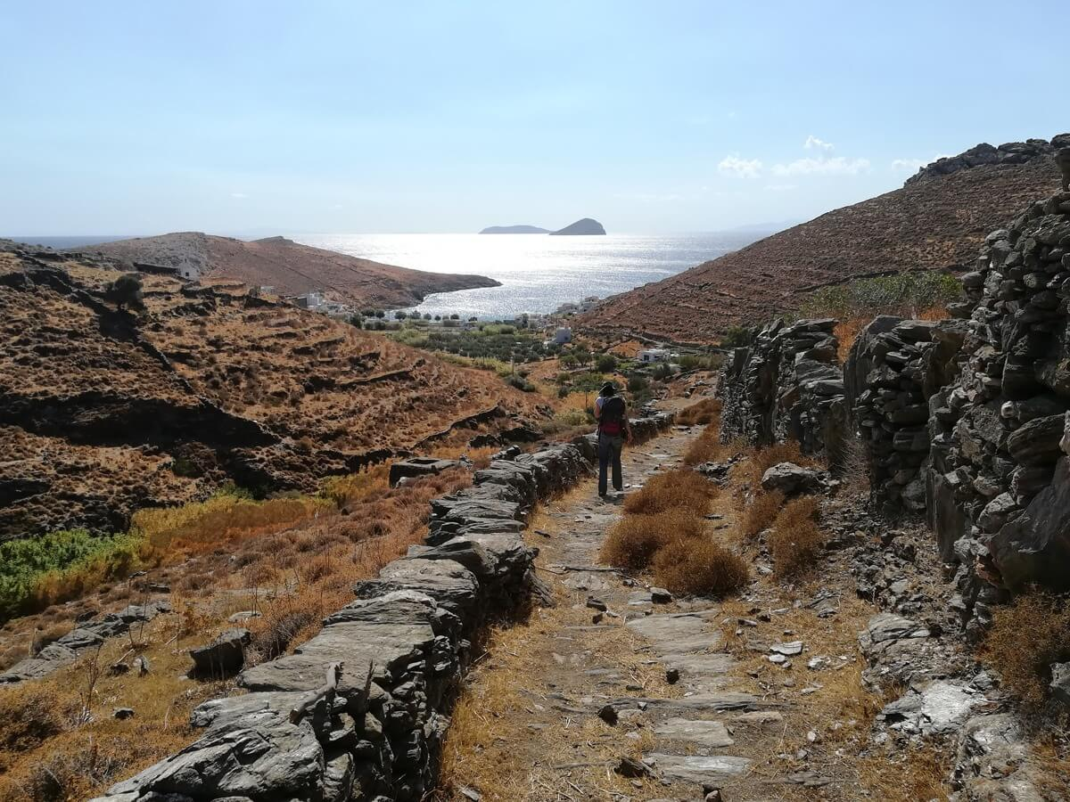 Hiking Tour on Kythnos Island