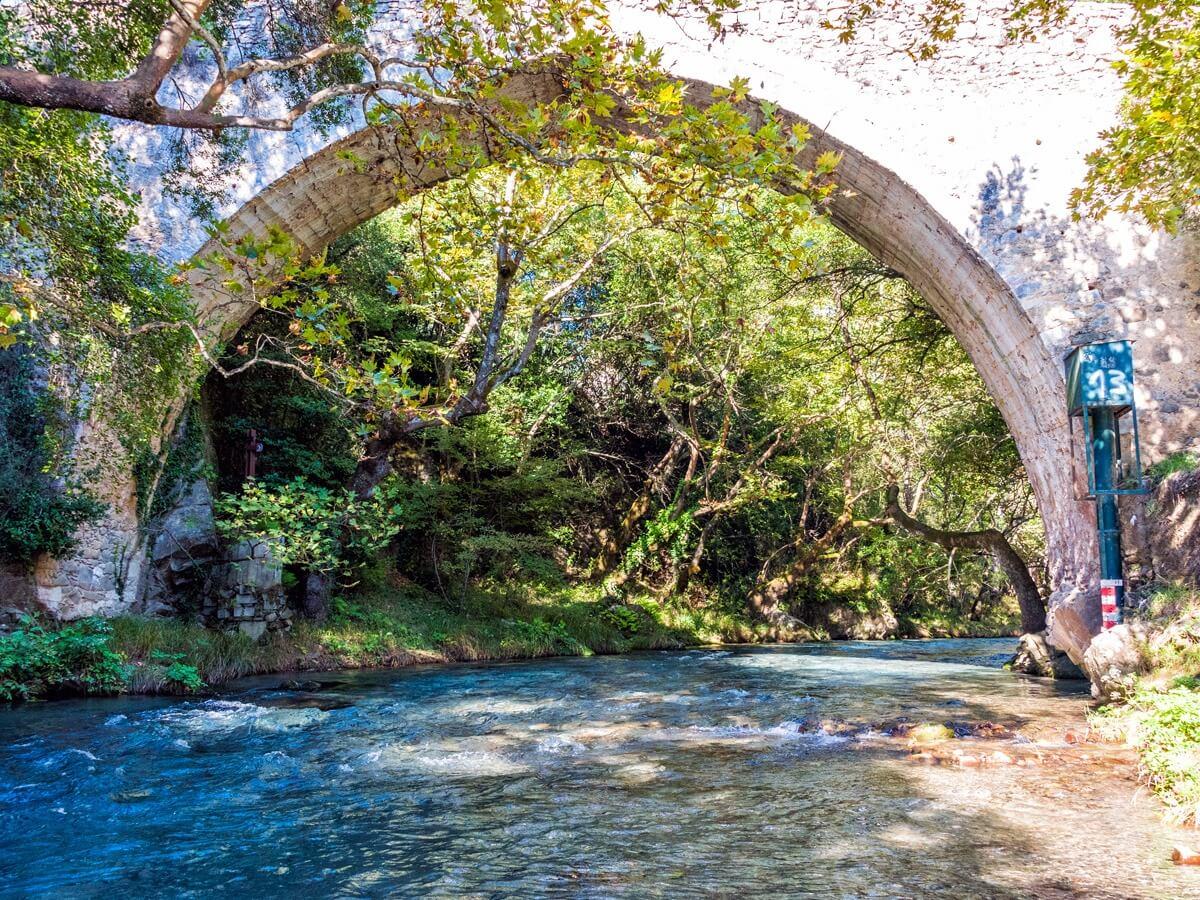 menalon trail stone bridge