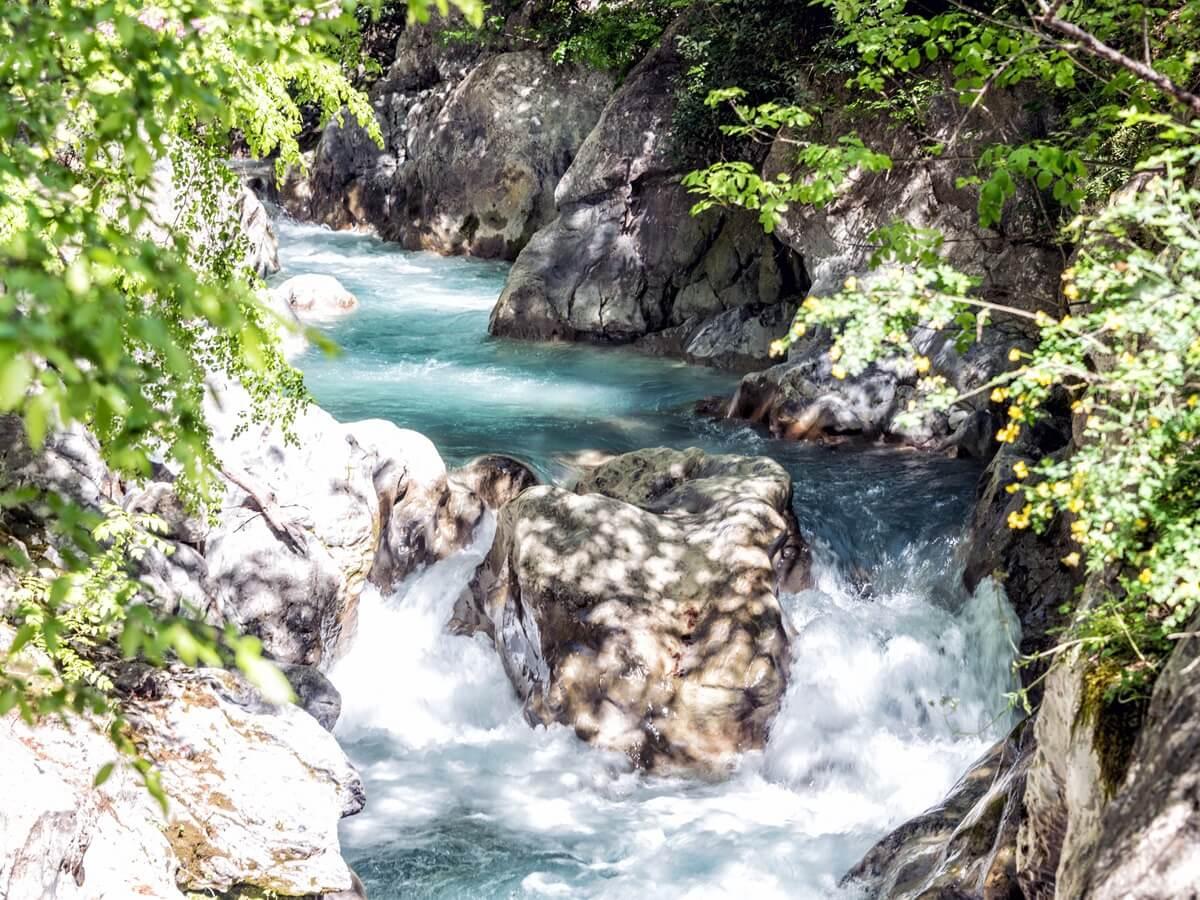 menalon trail river white water