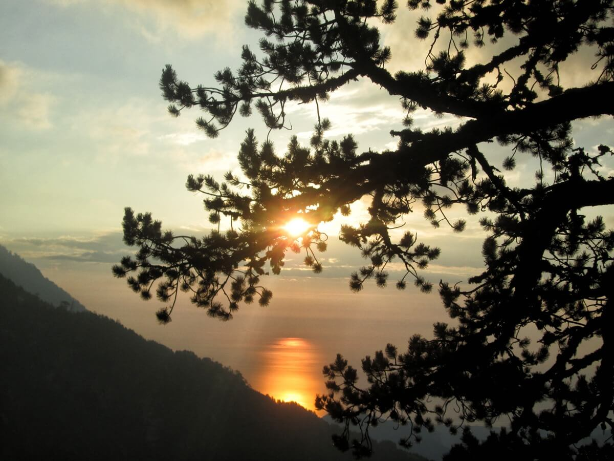 Mount Olympus Hiking Tour Sunset