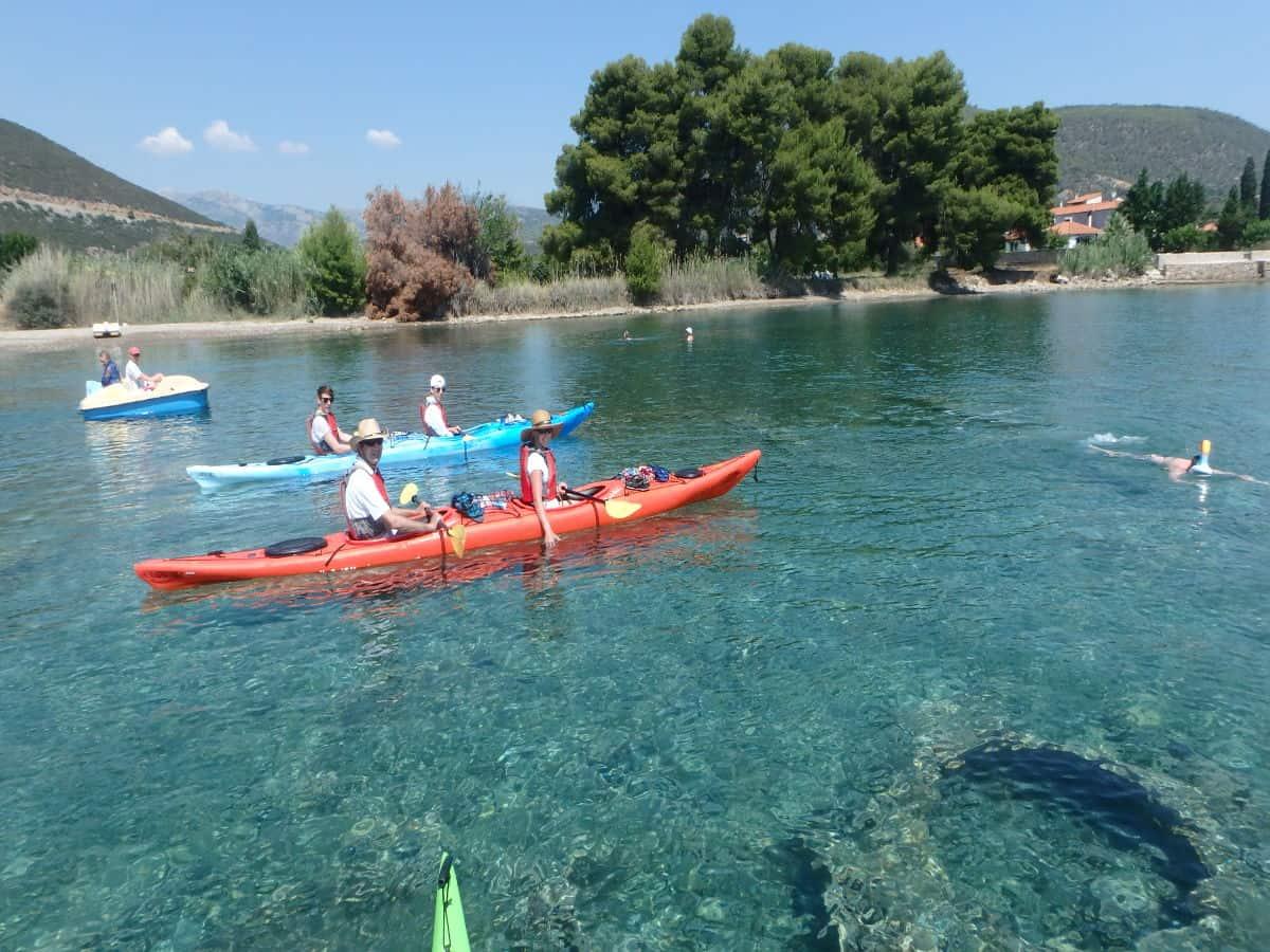 nafplio sea kayak tour