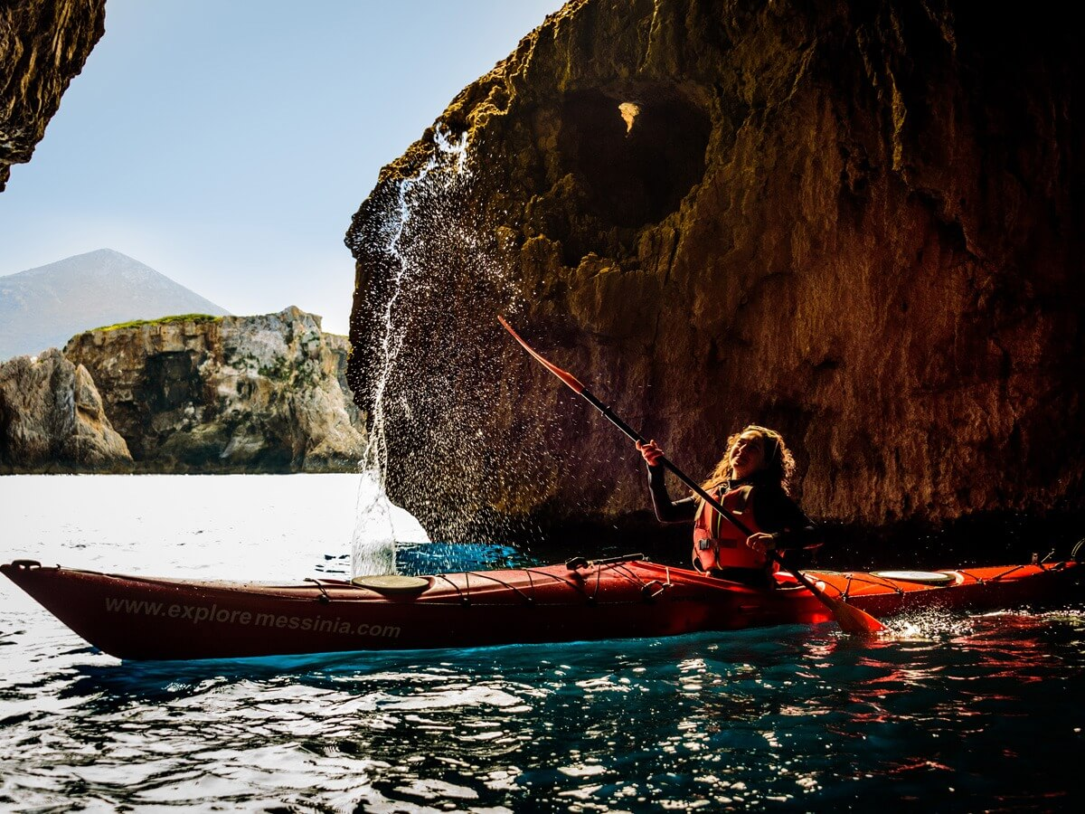 Peloponnese Sea Kayaking Tour