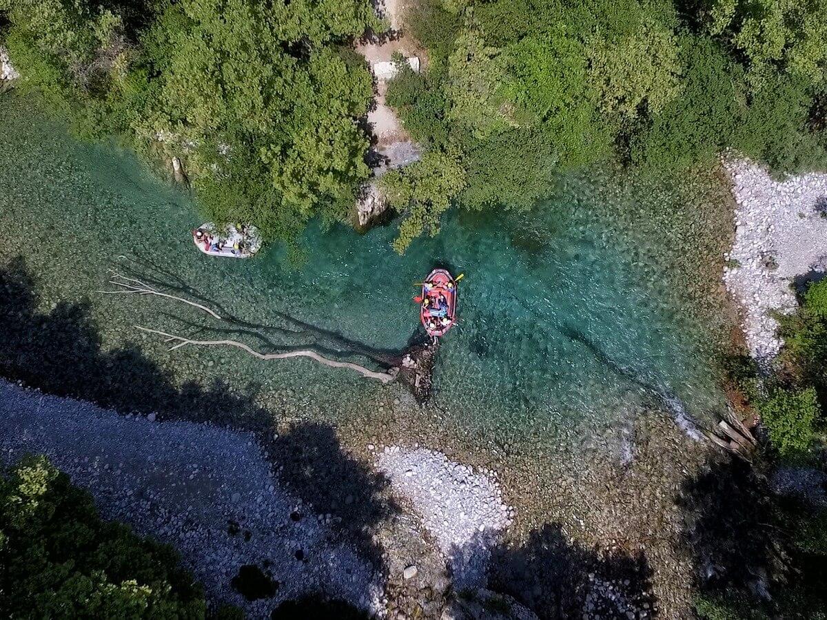 Rafting in Voidomatis