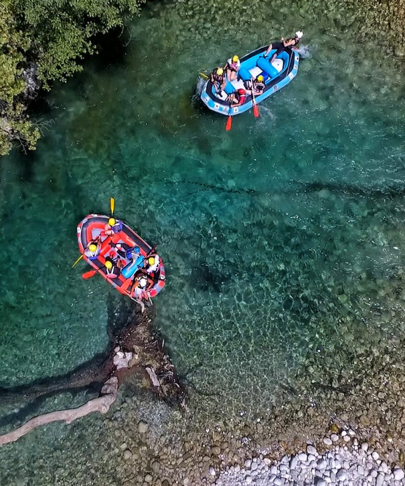 Rafting in Voidomatis
