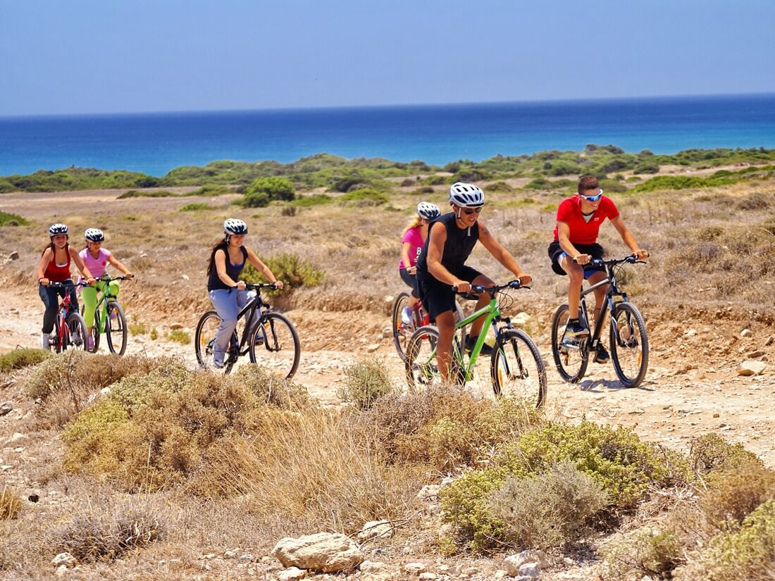 Rhodes Red Water Biking Tour