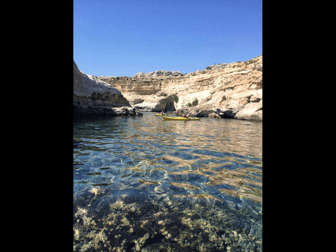 Rhodes Sea Kayak Tour 10