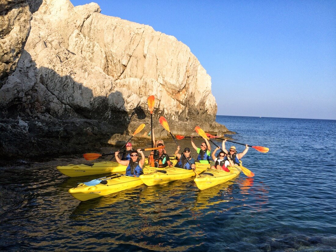 Rhodes Sea Kayak Tour 11