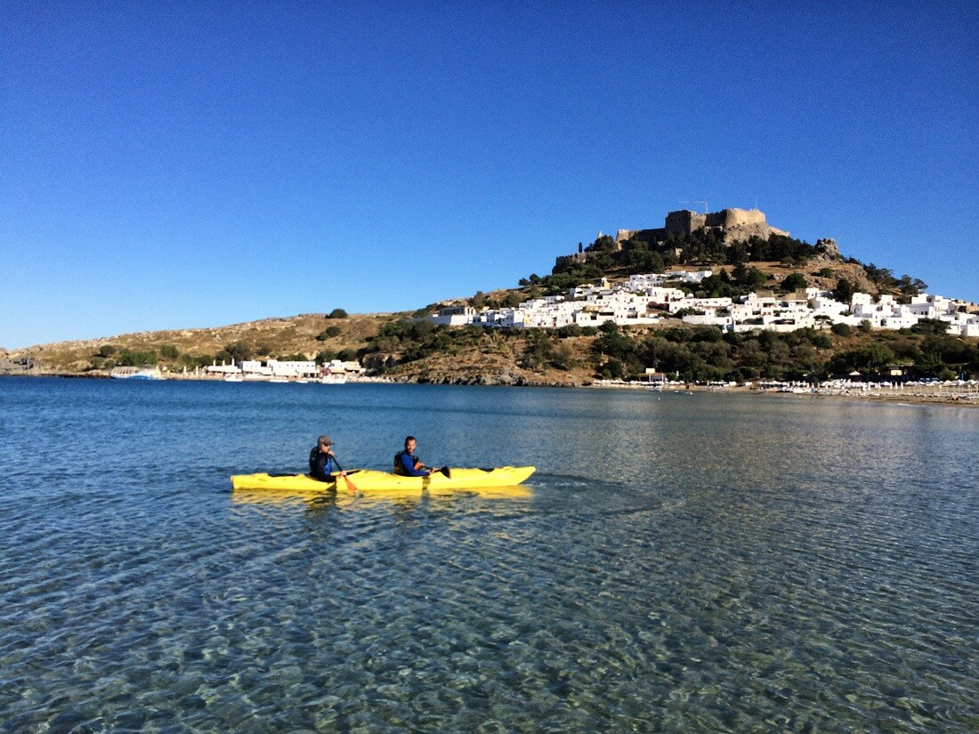 Rhodes Sea Kayak Tour 12