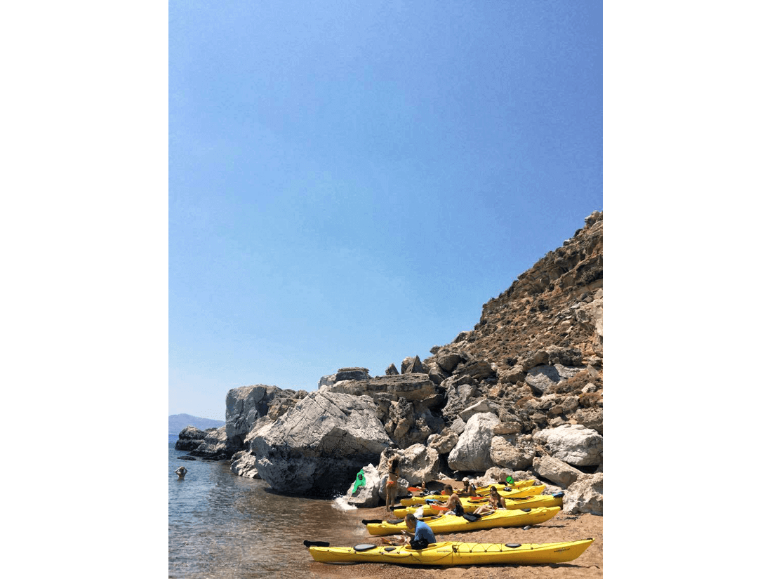 Rhodes Sea Kayak Tour 02