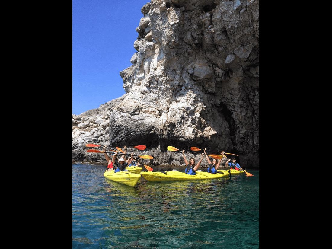 Rhodes Sea Kayak Tour 05