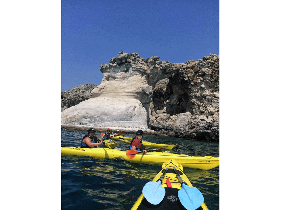 Rhodes Sea Kayak Tour 07