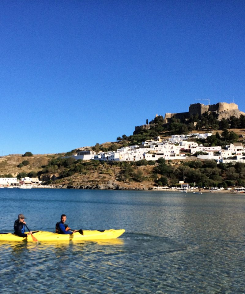 Rhodes Sea Kayak Tour
