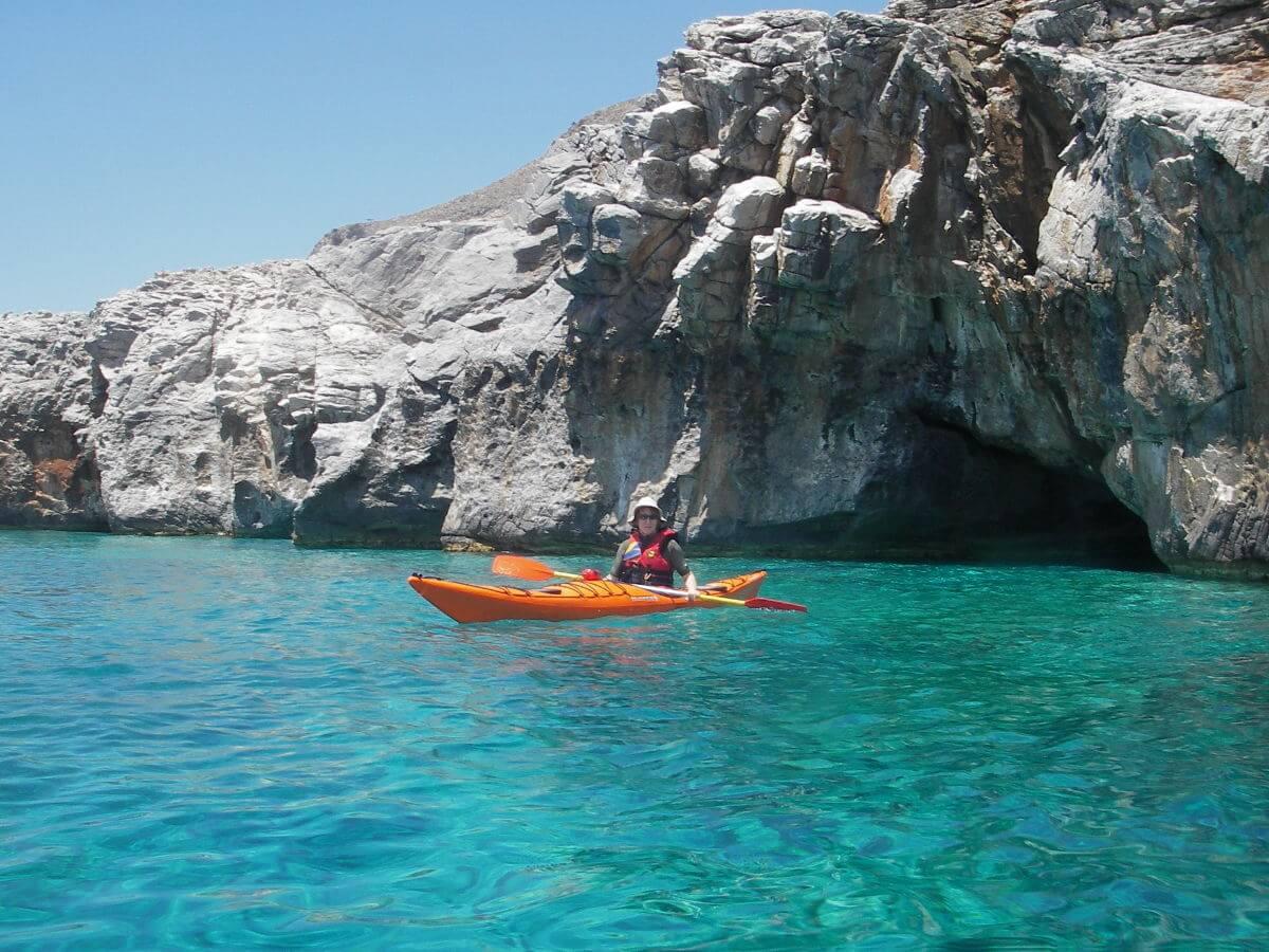 Crete Sea kayak tour